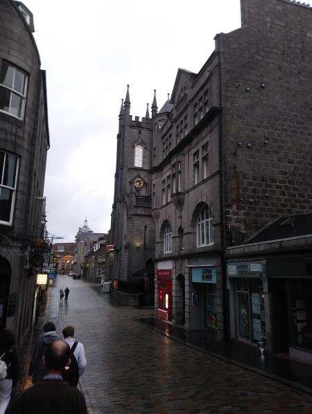 Straßenbild in Aberdeen