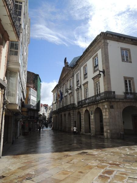 Detail in der Altstadt von La Coruña