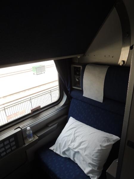 Schlafwagenabteil (Roomette) im California Zephyr