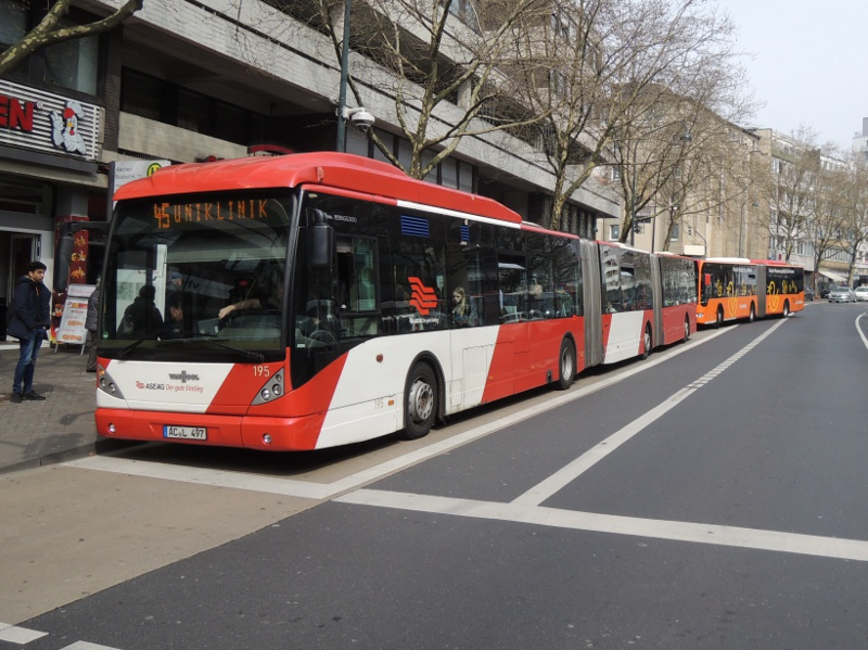 Doppelgelenkbus der ASEAG