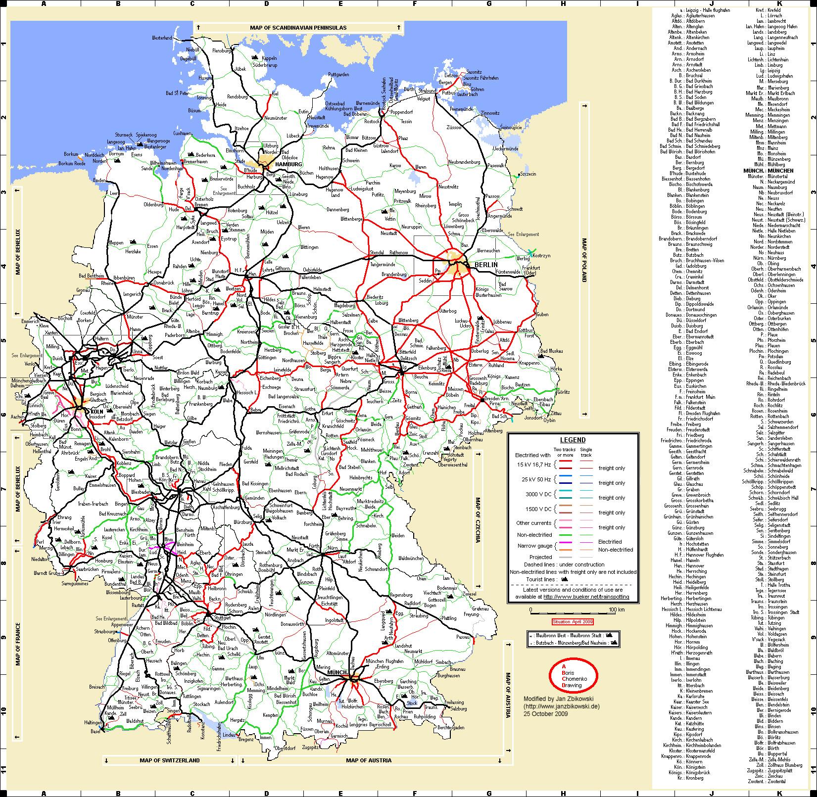 bahn karte deutschland Jan kann Bahn fahrn » Blog Archiv » Streckenkunde bahn karte deutschland