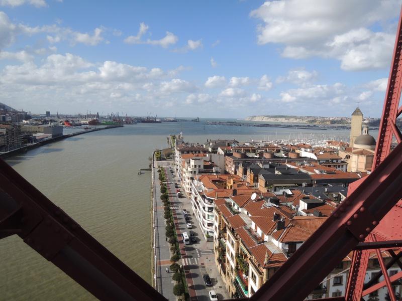 Blick von der Puente Colgante