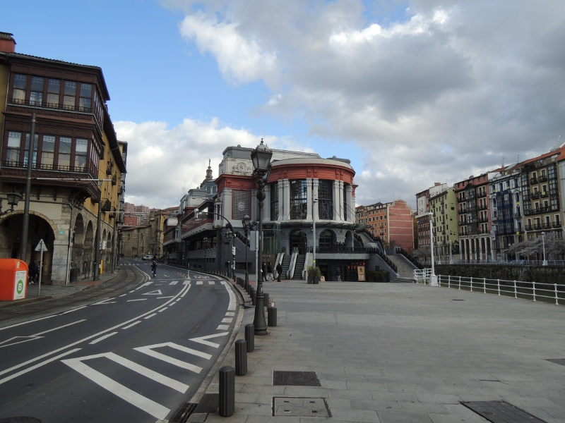 Markthalle in Bilbao
