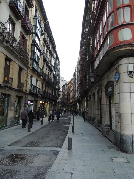 Stadtansicht in Bilbao