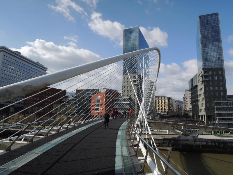 Zubizuri in Bilbao