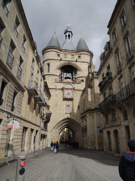 In der Altstadt von Bordeaux