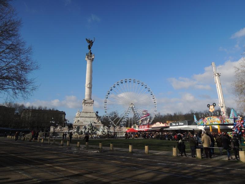 Foire aux Plaisirs in Bordeaux
