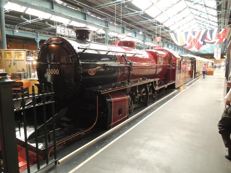 Dampflok im National Railway Museum