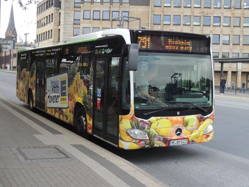 Citaro II der Bahnen der Stadt Monheim