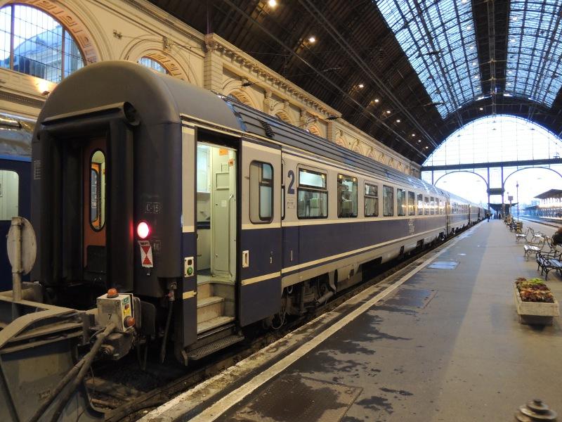 2.-Klasse-Wagen der CFR