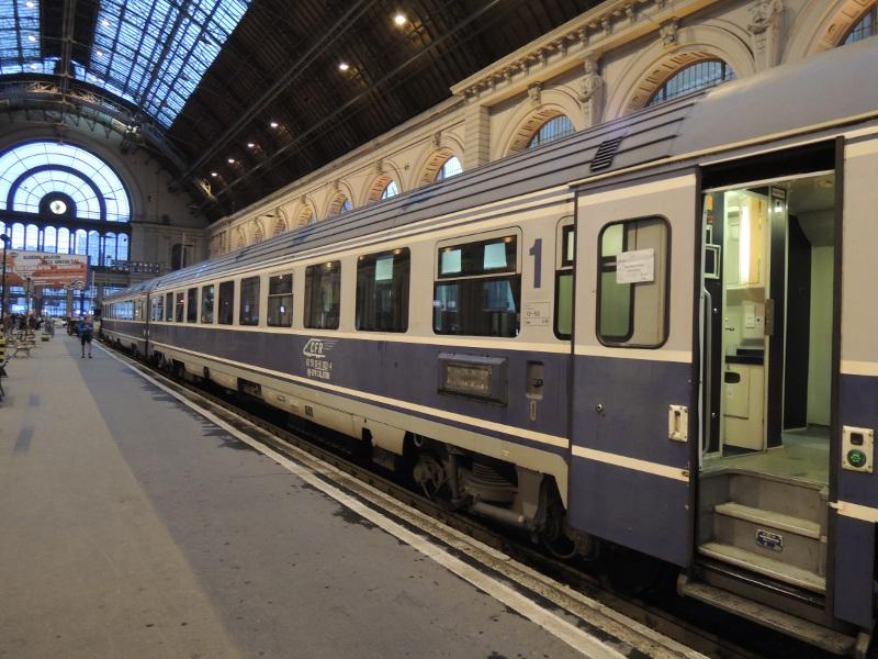 1.-Klasse-Wagen der CFR