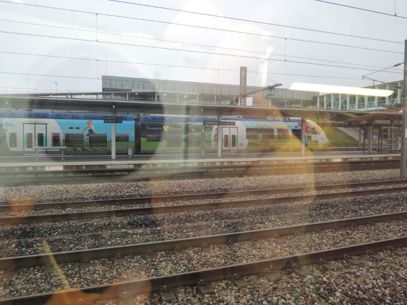 Bahnhof Champagne-Ardennes mit Anschluss-TER