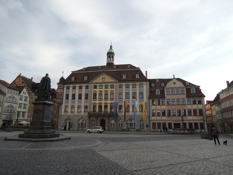 Marktplatz von Coburg