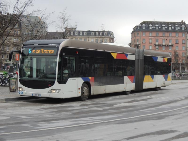 Citaro für den Bus à haut niveau de Service