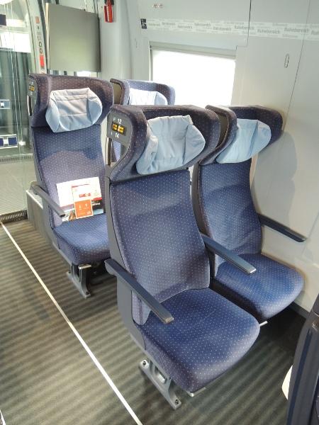 Sitze im redesignten ICE 3