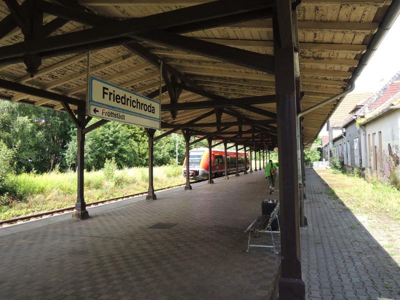 Am Bahnhof Friedrichroda