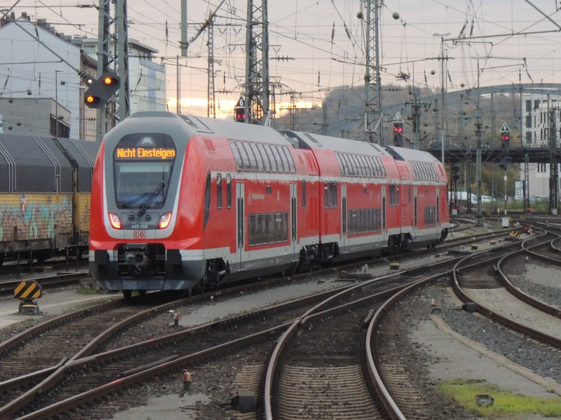 Twindexx-Triebwagen in Würzburg Hbf