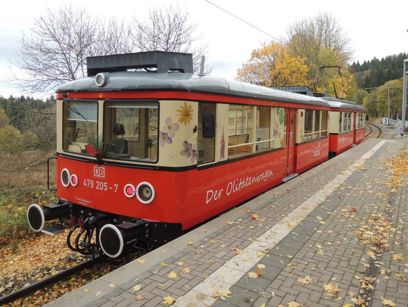 Olitätenwagen der Oberweißbacher Bergbahn