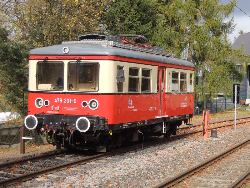 Flachstreckenwagen der Oberweißbacher Bergbahn