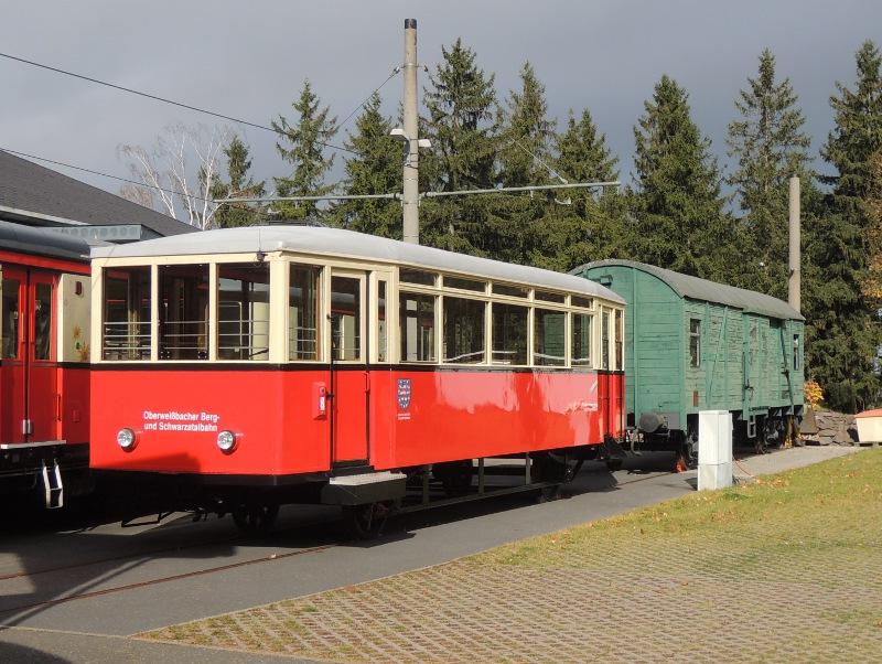 Personenwagen der Oberweißbacher Bergbahn
