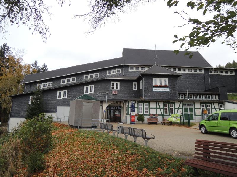 Bergstation Lichtenhain der Oberweißbacher Bergbahn