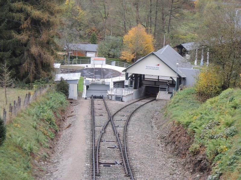 Blick auf die Talstation