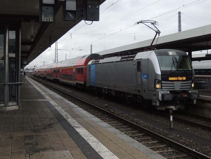 RE Nürnberg–Sonneberg mit Vectron