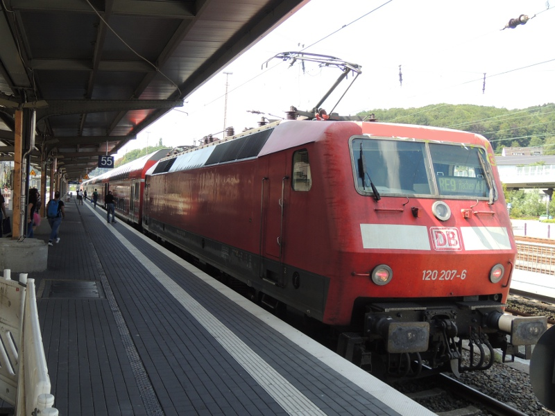 120 am Rhein-Sieg-Express