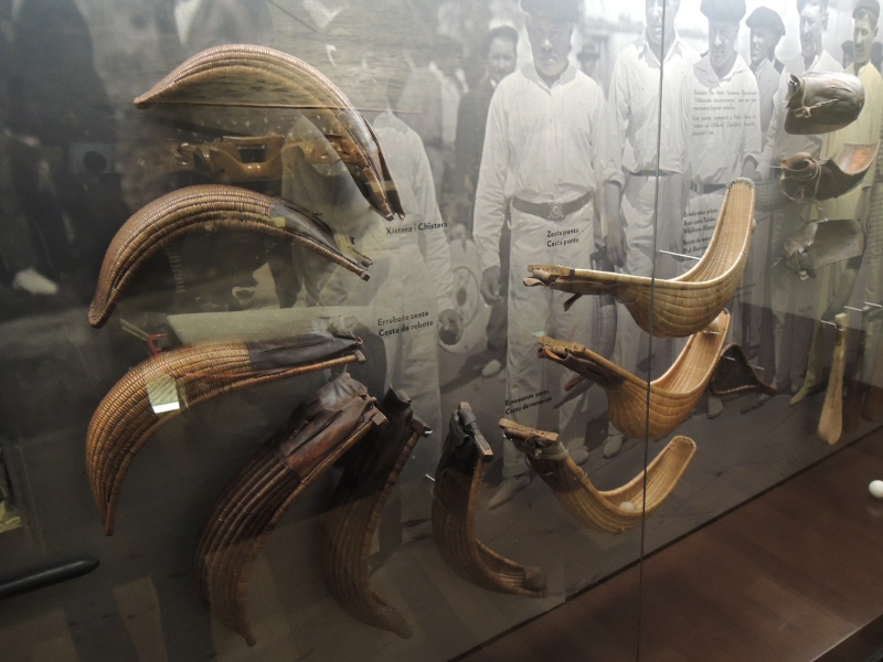 Pelotaschläger im San Telmo Museoa