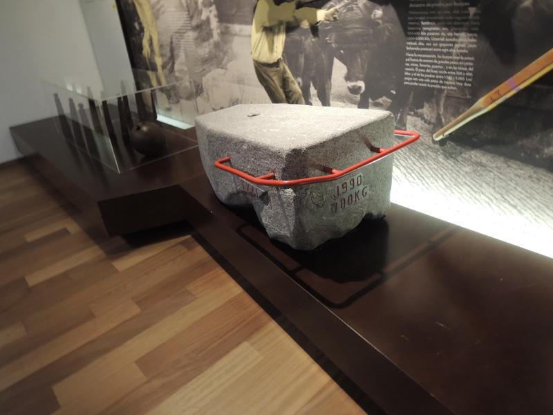 Wurfsteinblock im San Telmo Museoa