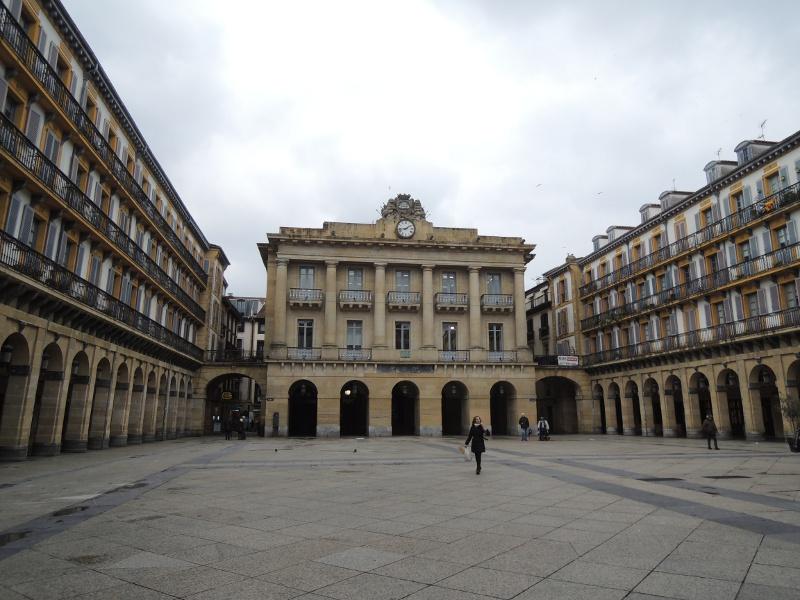 Umbauter Platz in Donostia-San Sebastián