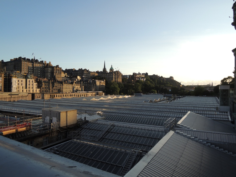 Waverley Station in Edinburgh