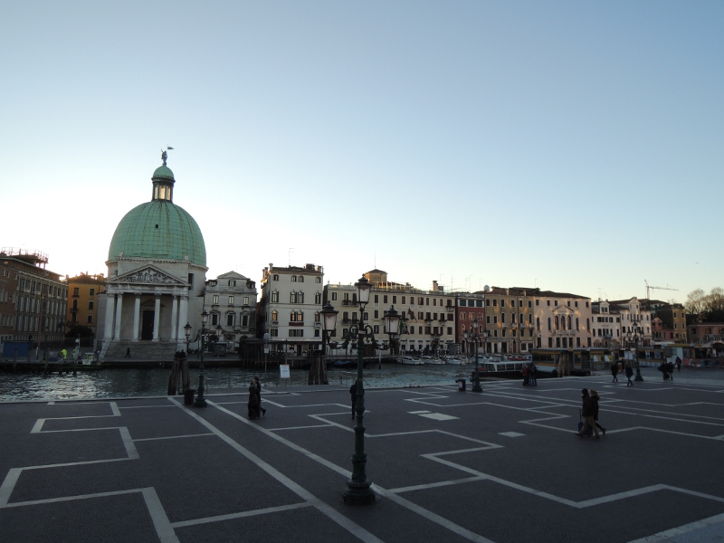 Erster Eindruck von Venedig