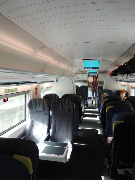 2. Klasse im Eurostar 320