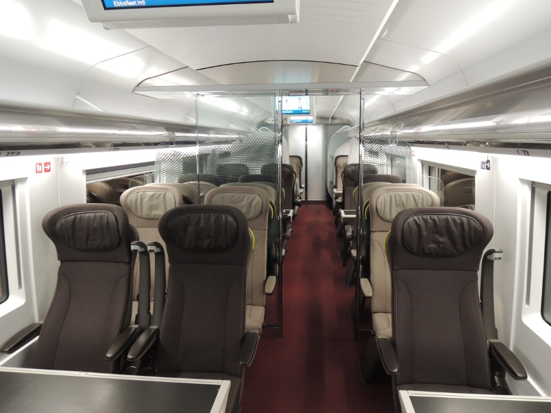 1. Klasse im Eurostar 320