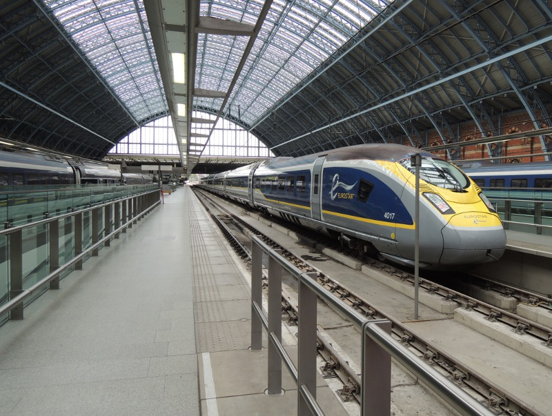 Eurostar 320 in St Pancras