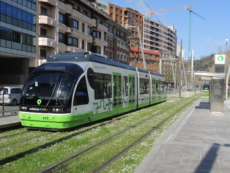 Straßenbahn Bilbao