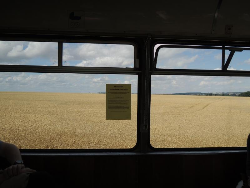 Feld, von der Thüringerwaldbahn aus gesehen