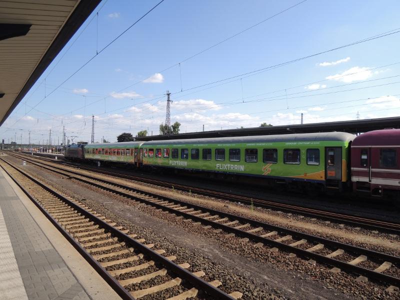 Flixtrain in Hanau