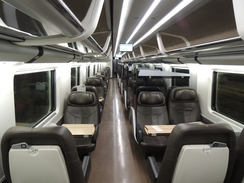 In der Business des Frecciarossa