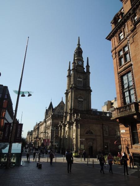 Haupteinkaufsstraße in Glasgow