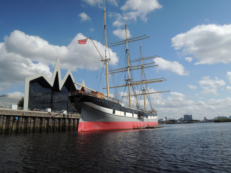 Tall Ship am Riverside Museum