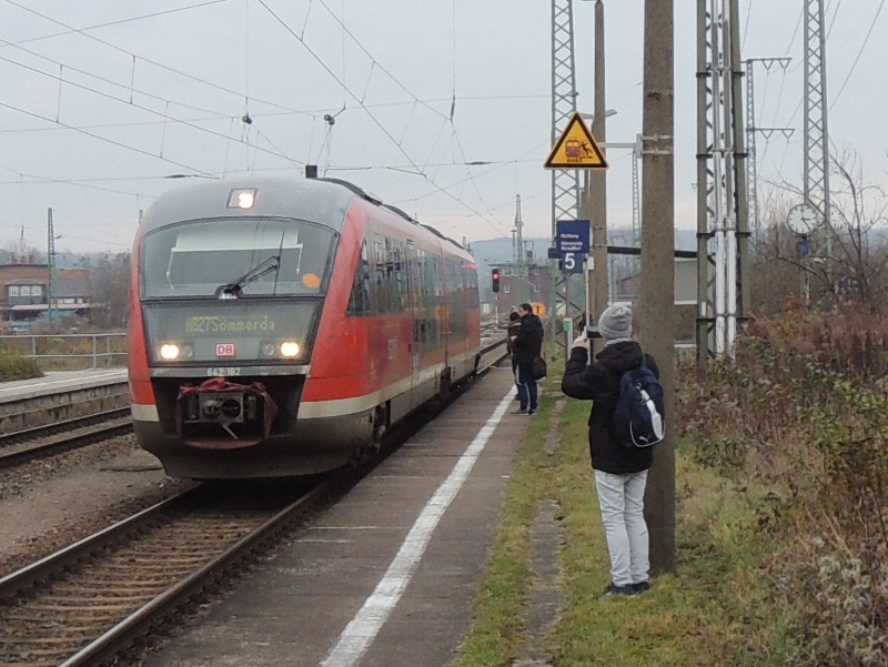 Bereitstellung der Pfefferminzbahn in Großheringen