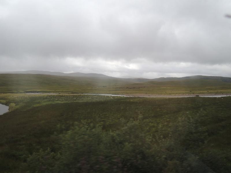 Landschaft auf dem Weg nach Kyle of Lochalsh