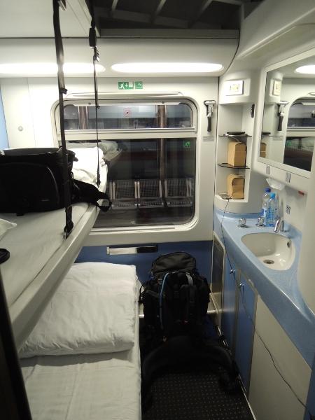 HŽ-Schlafwagen von München nach Zagreb