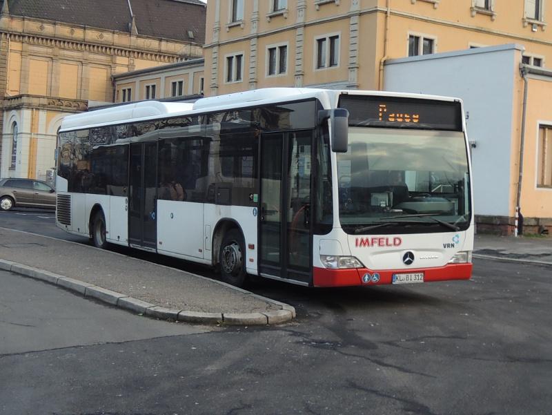 Citaro von Busverkehr Imfeld