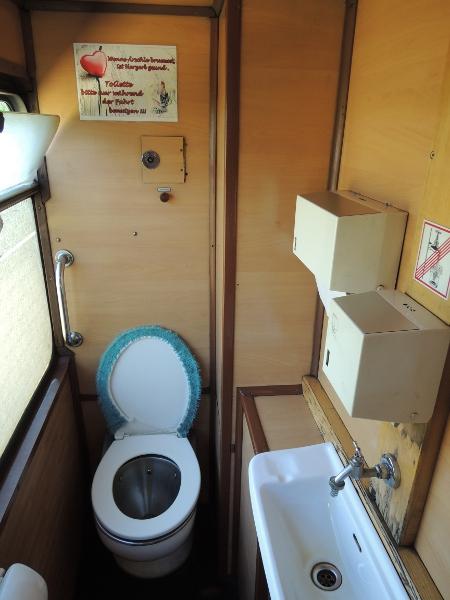 WC des Esslinger Triebwagens