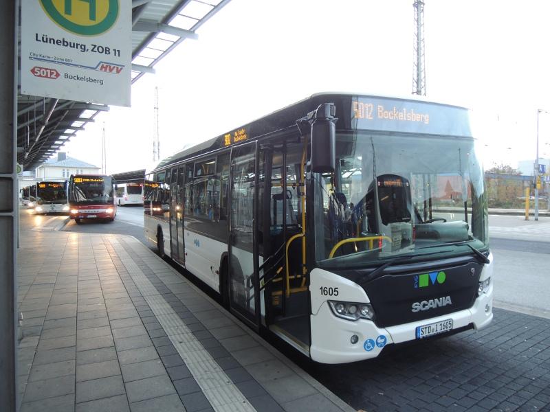 Scania-Bus der KVG Stade