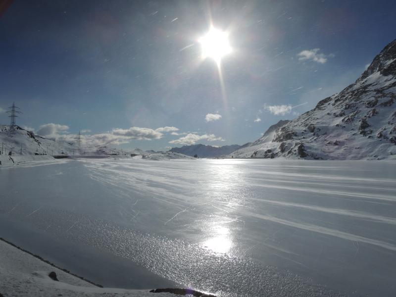 Lago Bianco bei Ospizio Bernina