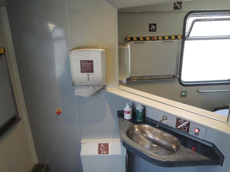 Toilette des Locomore